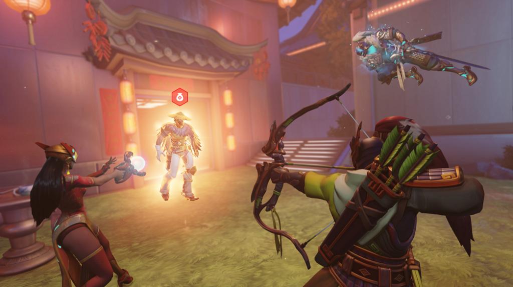 Overwatch Lunar New Year gameplay