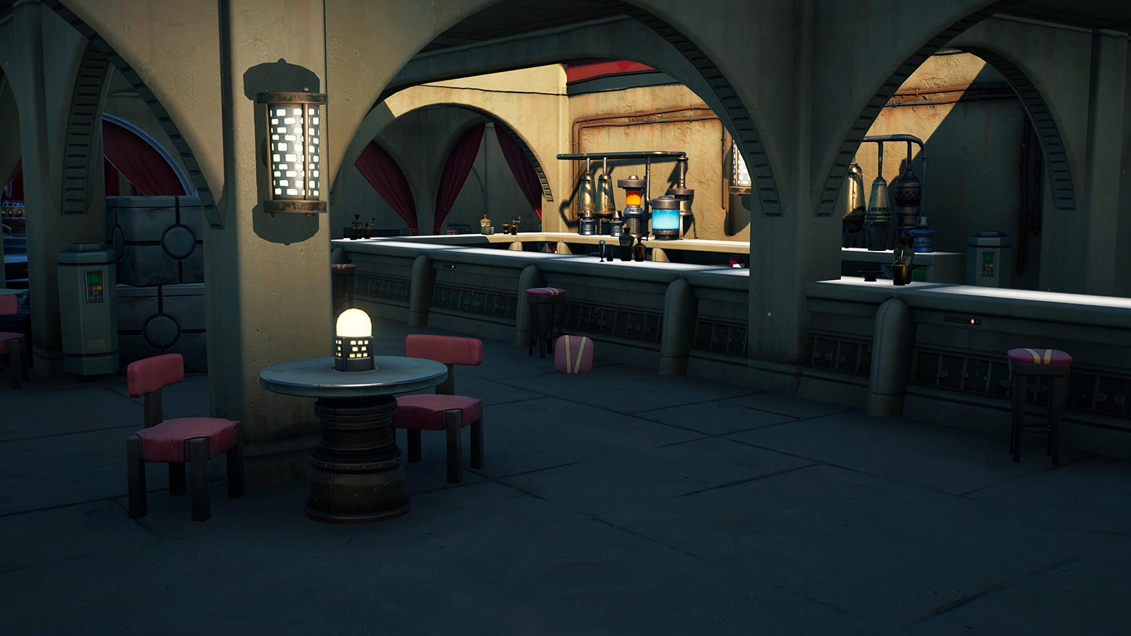 Fortnite Kit's Cantina Interior