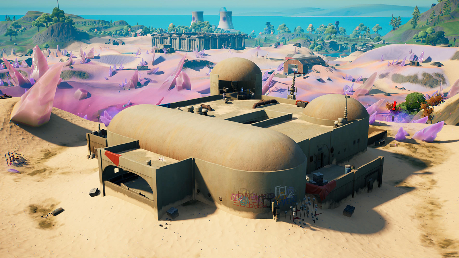 Fortnite Kits Cantina location
