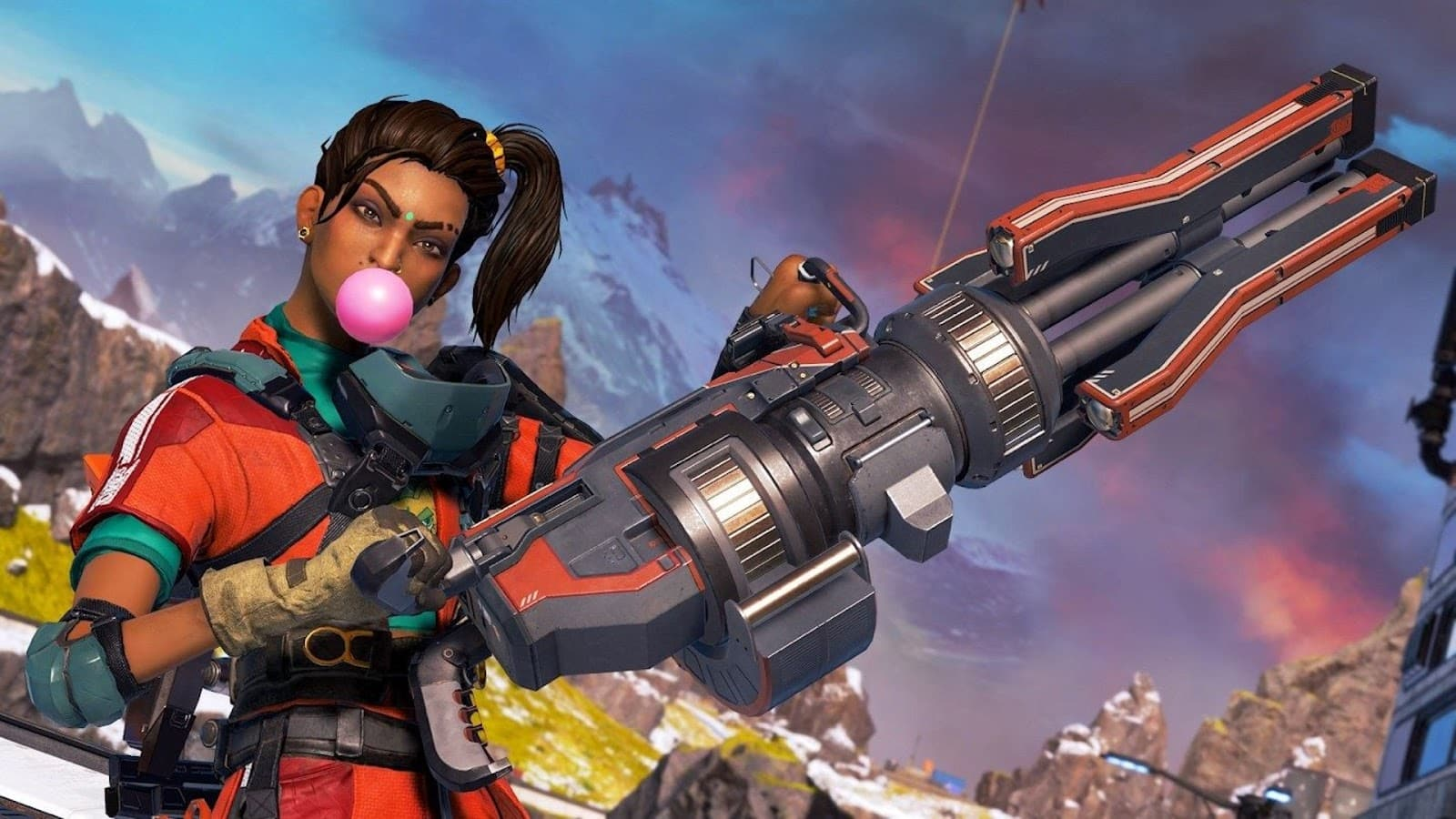 Rampart in Apex Legends
