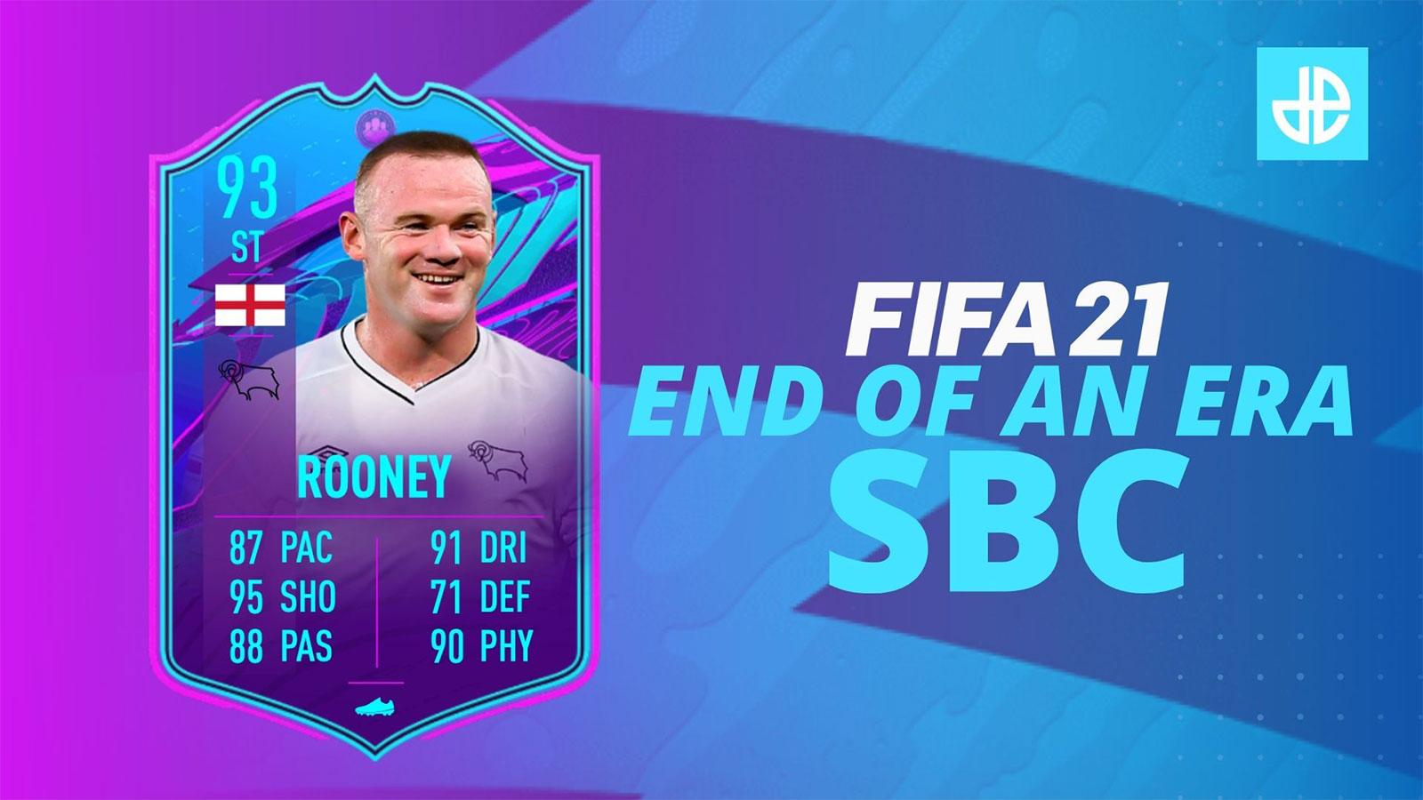Rooney end of an era SBC FIFA 21