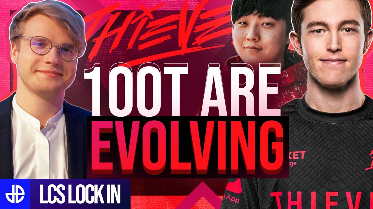 100 Thieves LCS Lock In Amazing