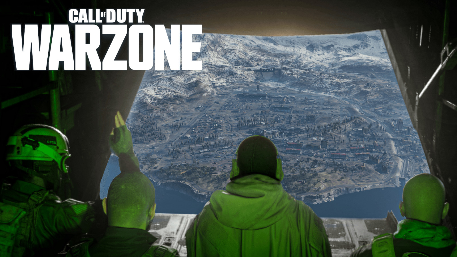 Warzone dropping in