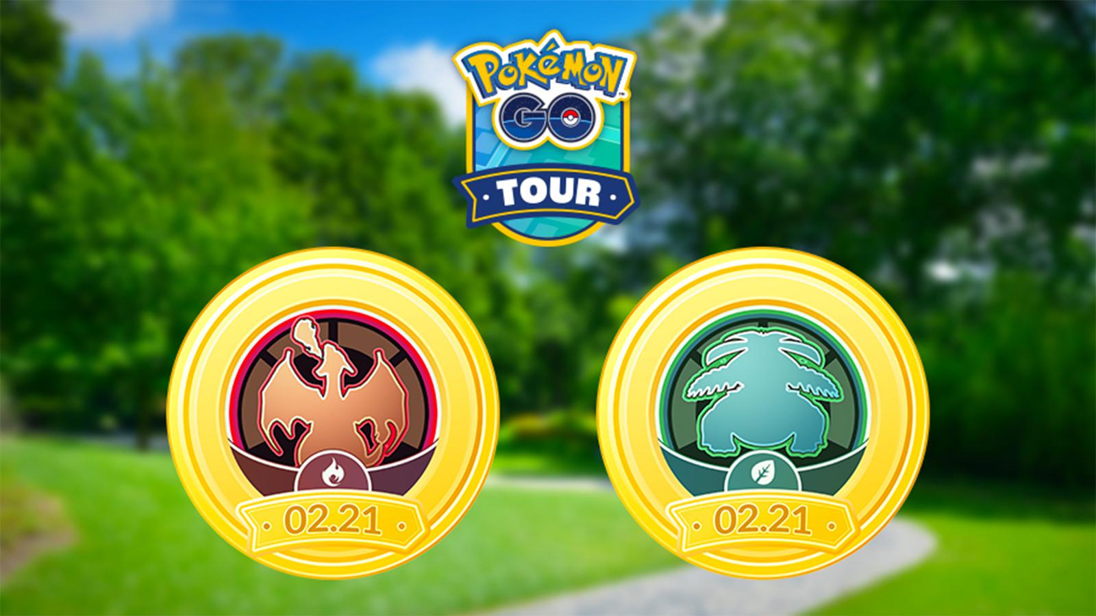 Pokemon Go Tour Kanto
