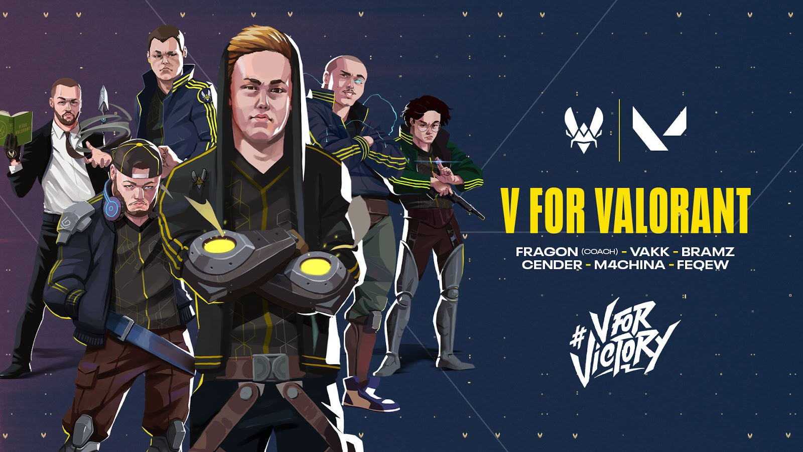 Team Vitality Valorant Roster Announcement