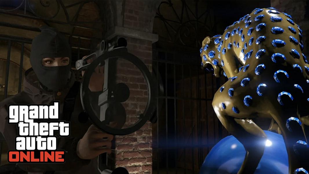 GTA Online's Black Panther statue target