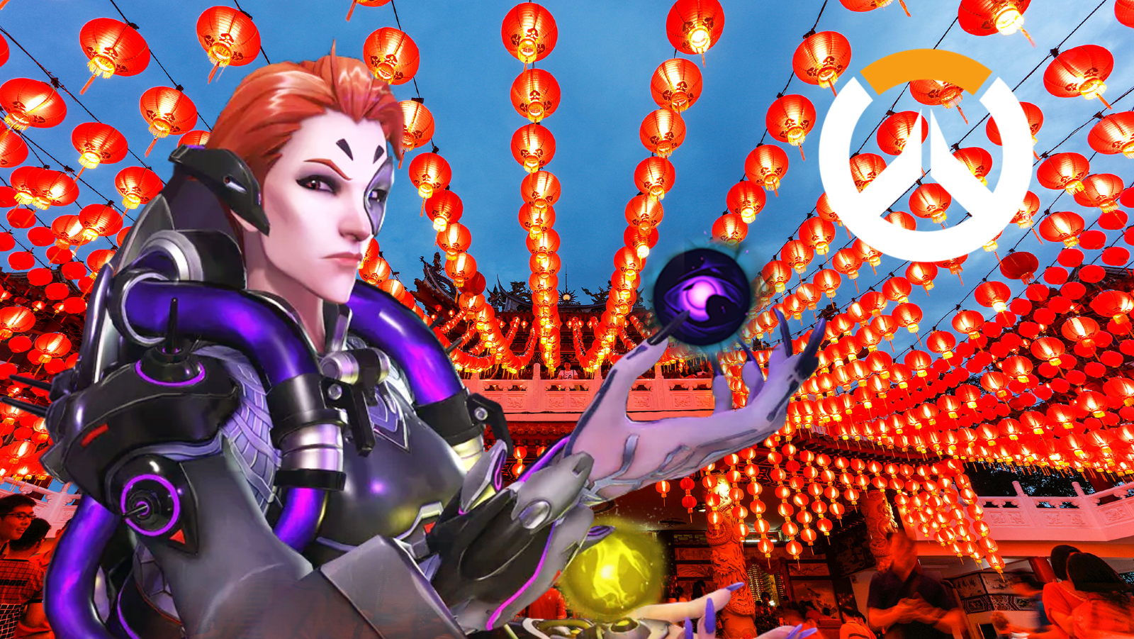 Moira Overwatch Chinese Lunar New Year skin concept