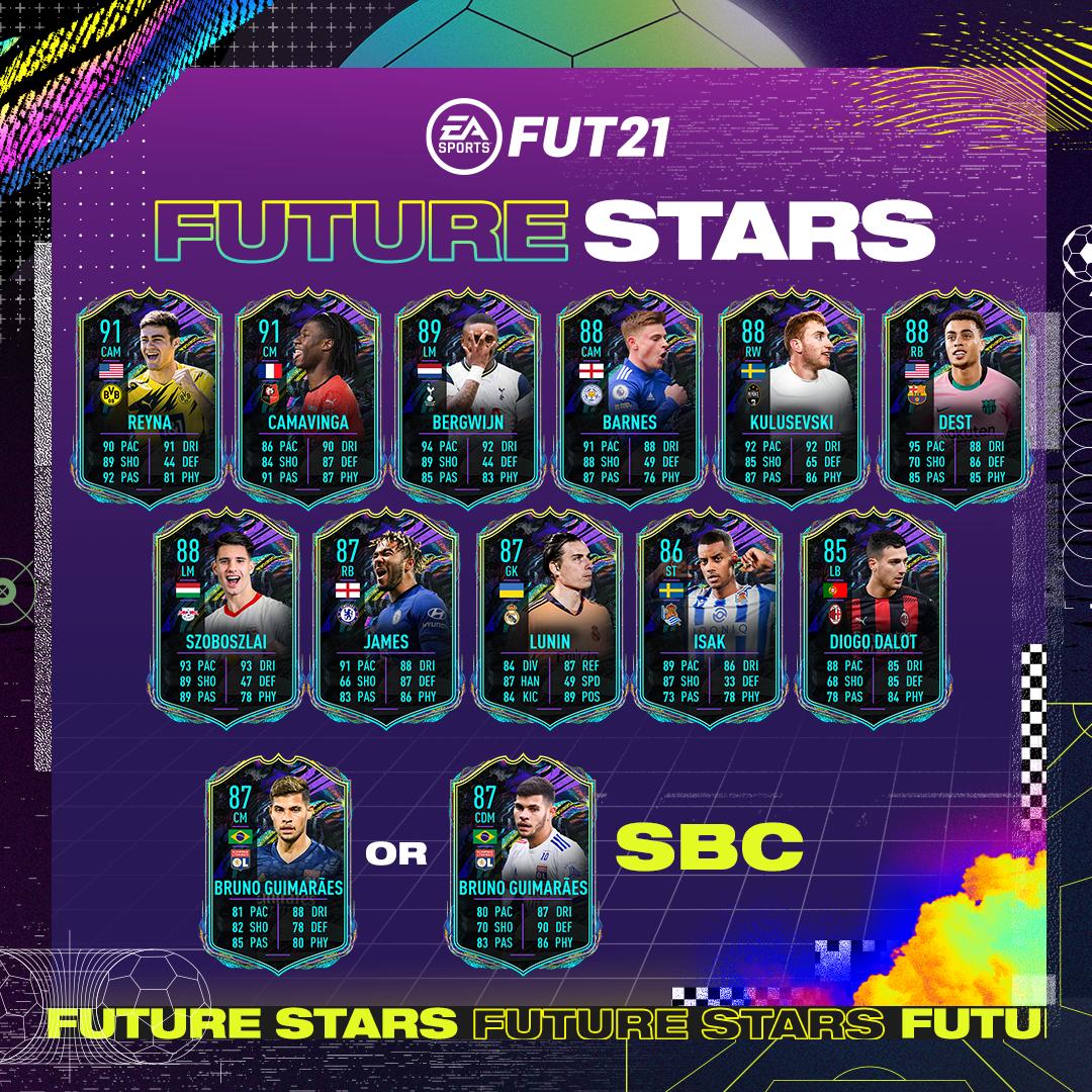 EA Sports Future Stars Team 1