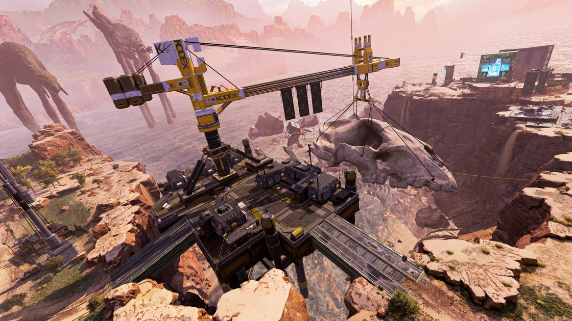 Salvage on Apex Legends kings canyon map