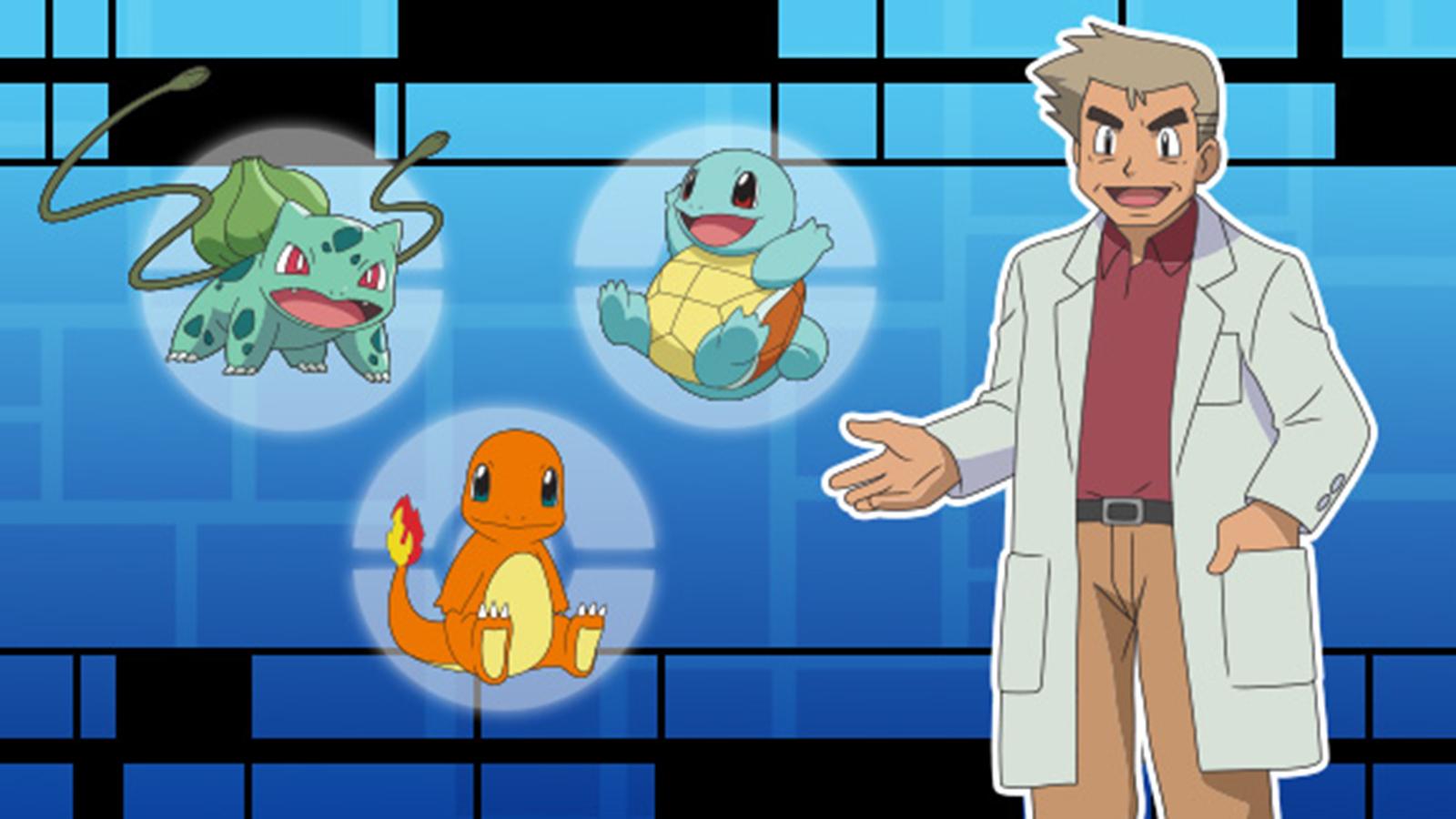 Pokemon Professor Oak