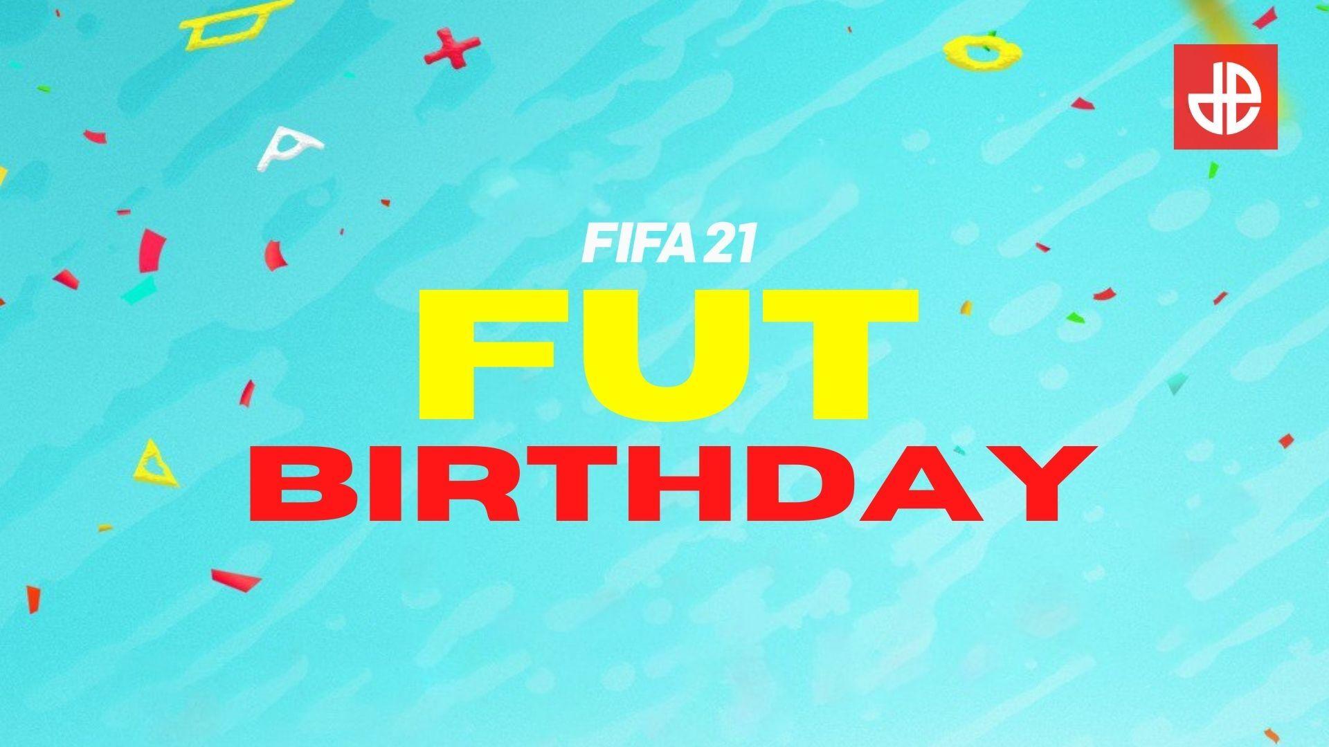 FIFA 21 FUT Birthday logo