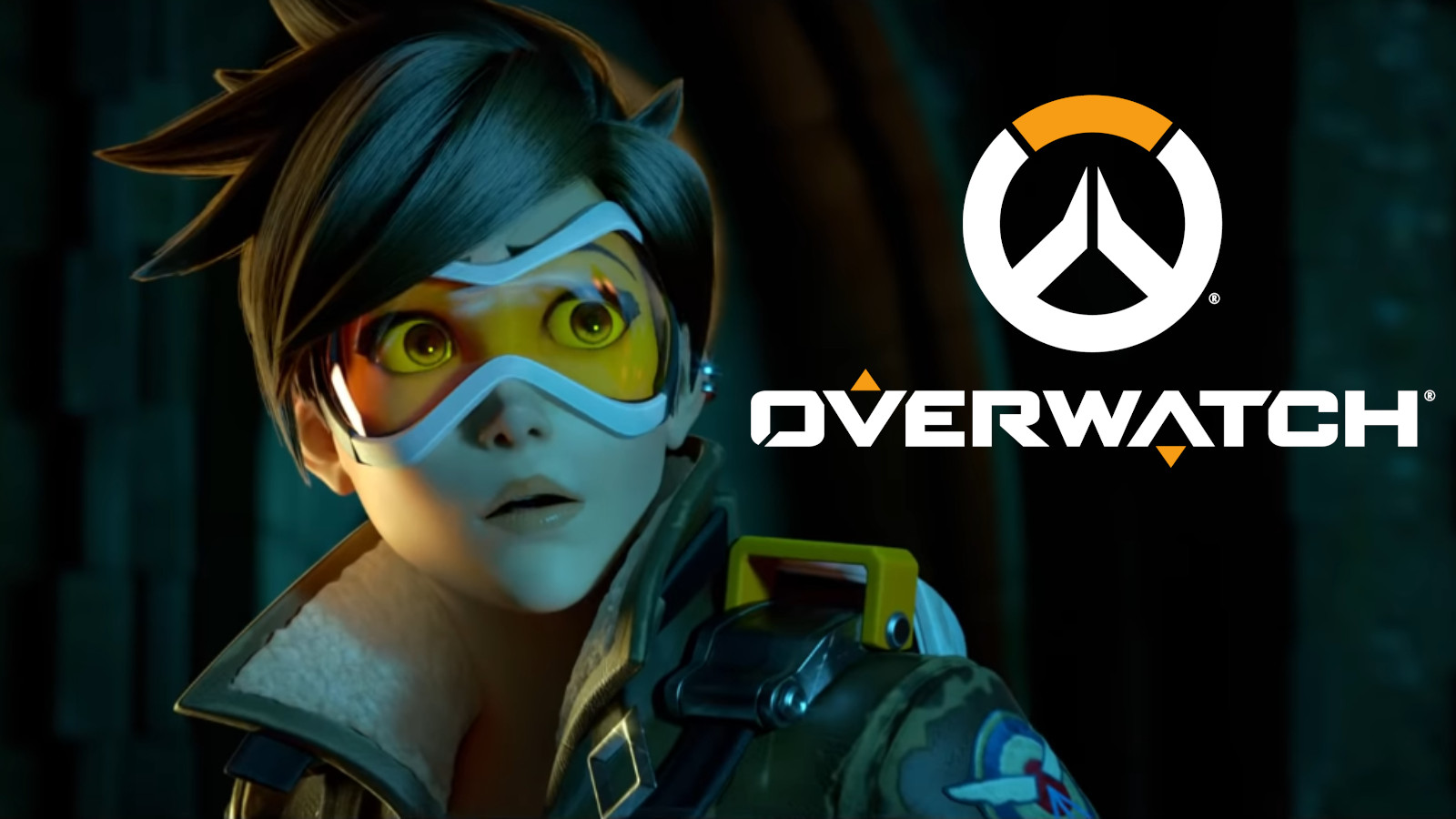 Tracer stares off looking concerned