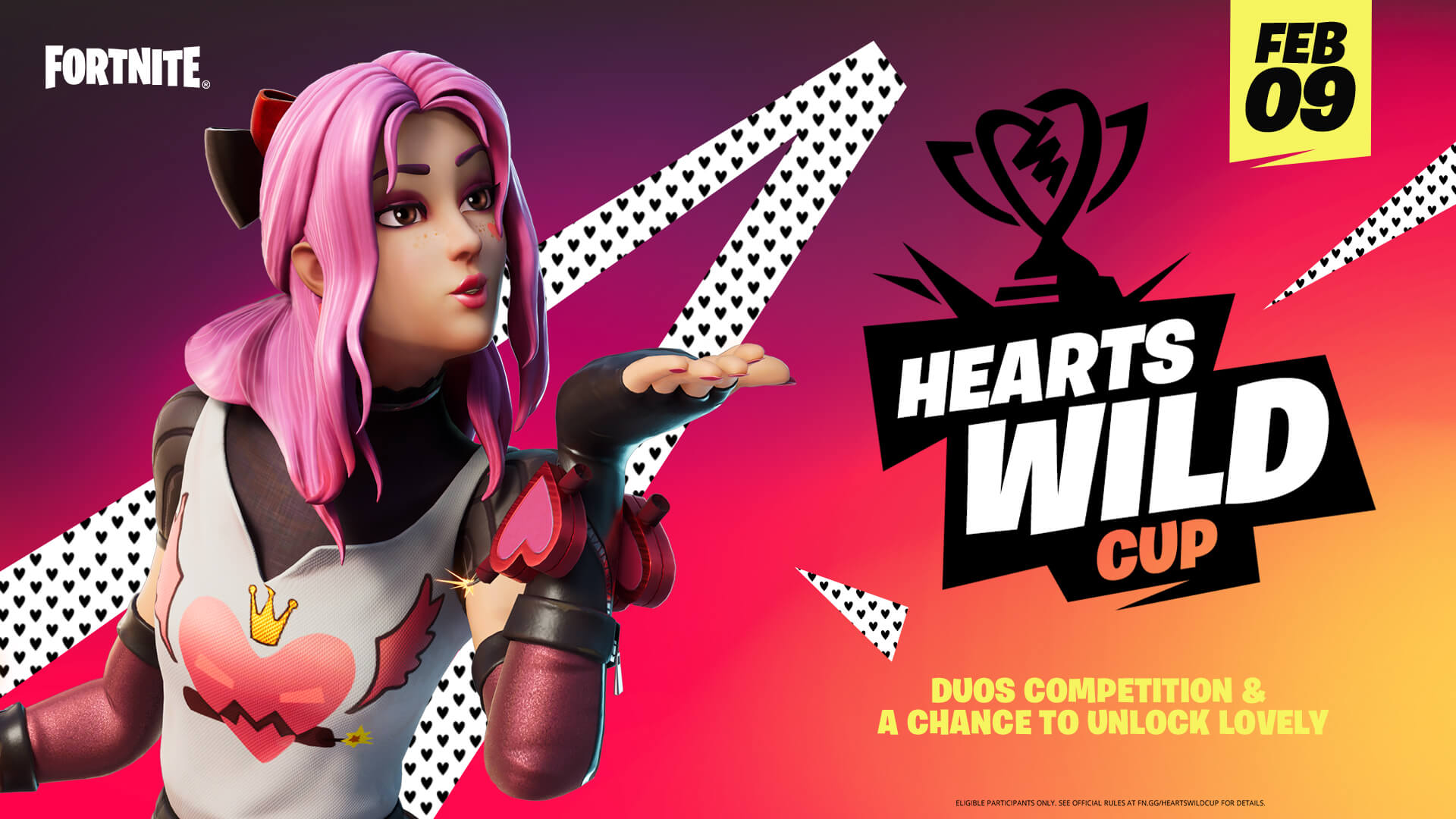 fortnite hearts wild cup