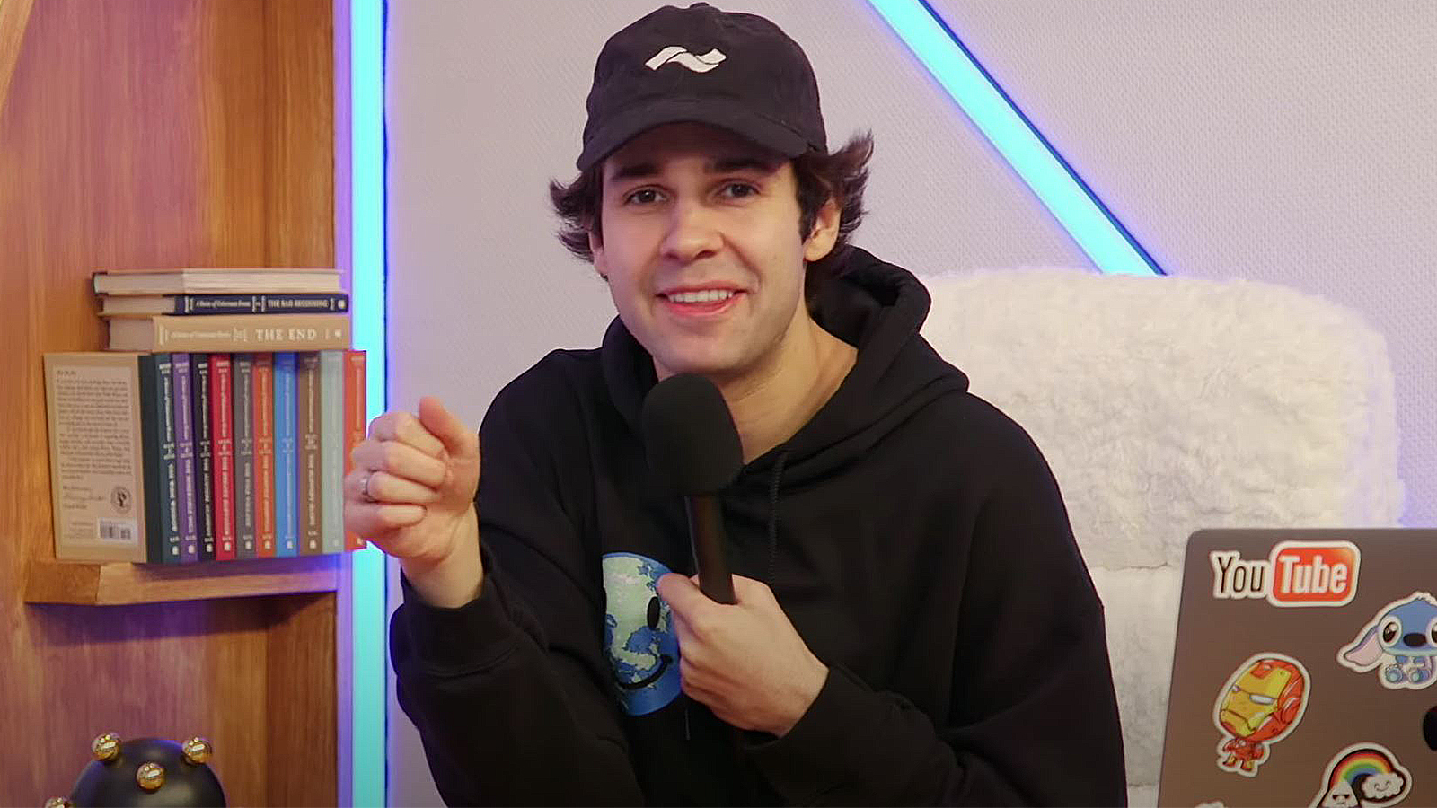 David Dobrik returns to YouTube