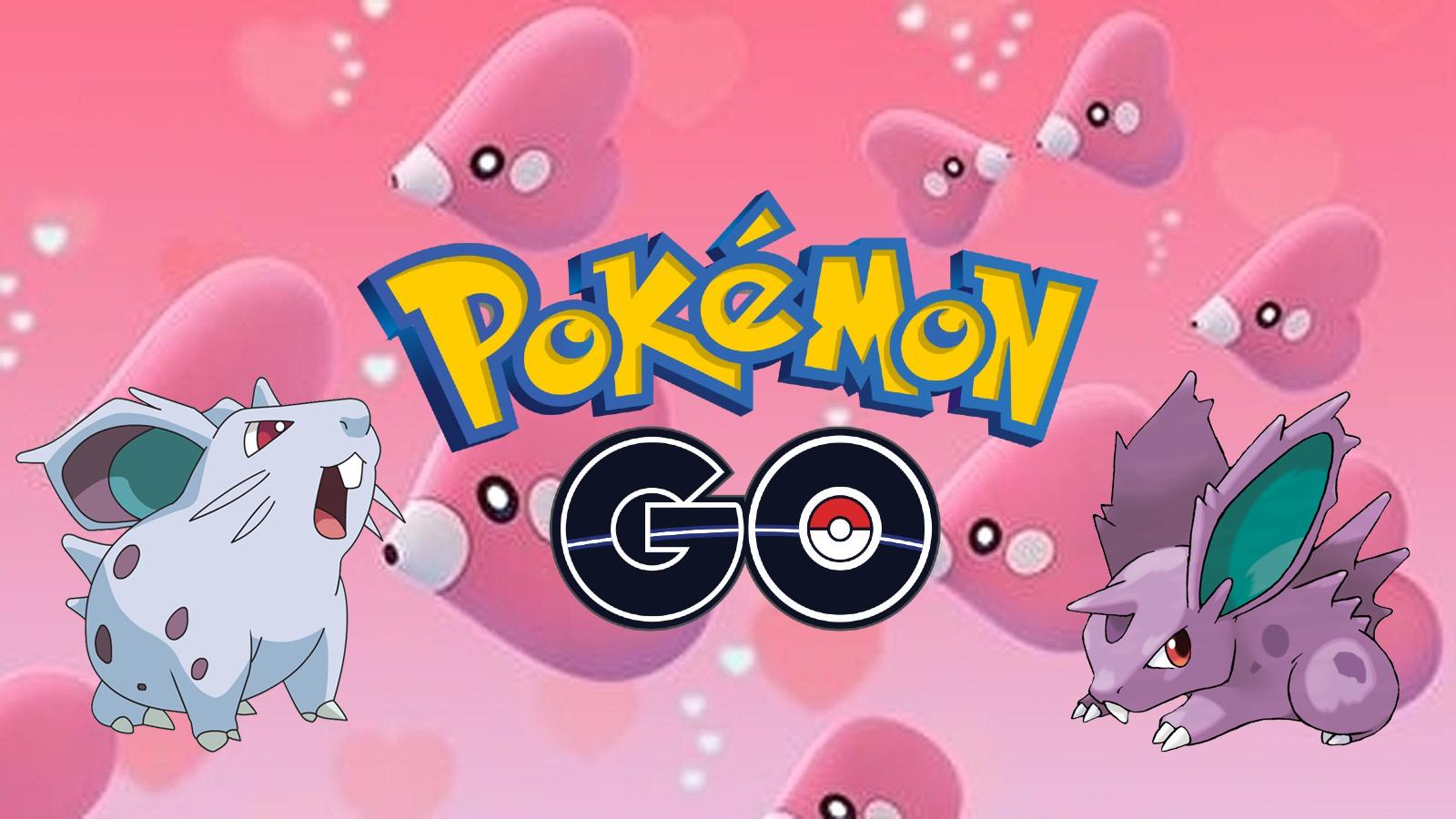 Pokemon Go Valentine's Day Challenge