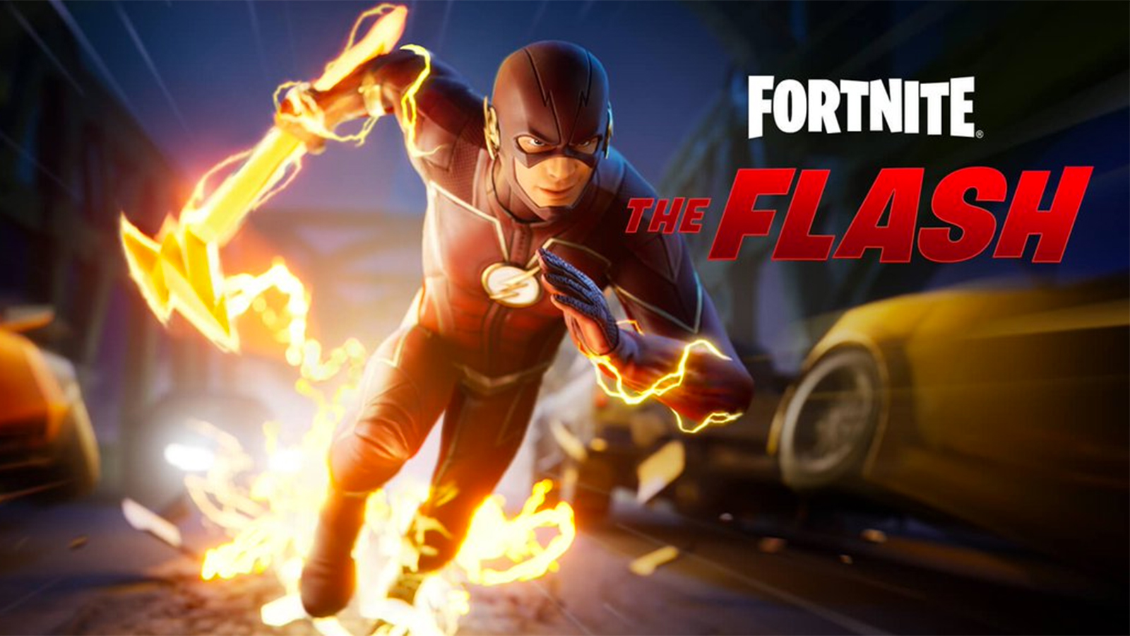 Fortnite The Flash Loading Screen