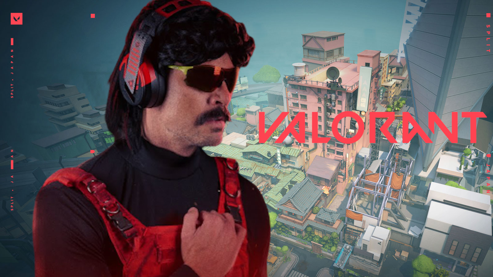 Dr Disrespect plays Valorant