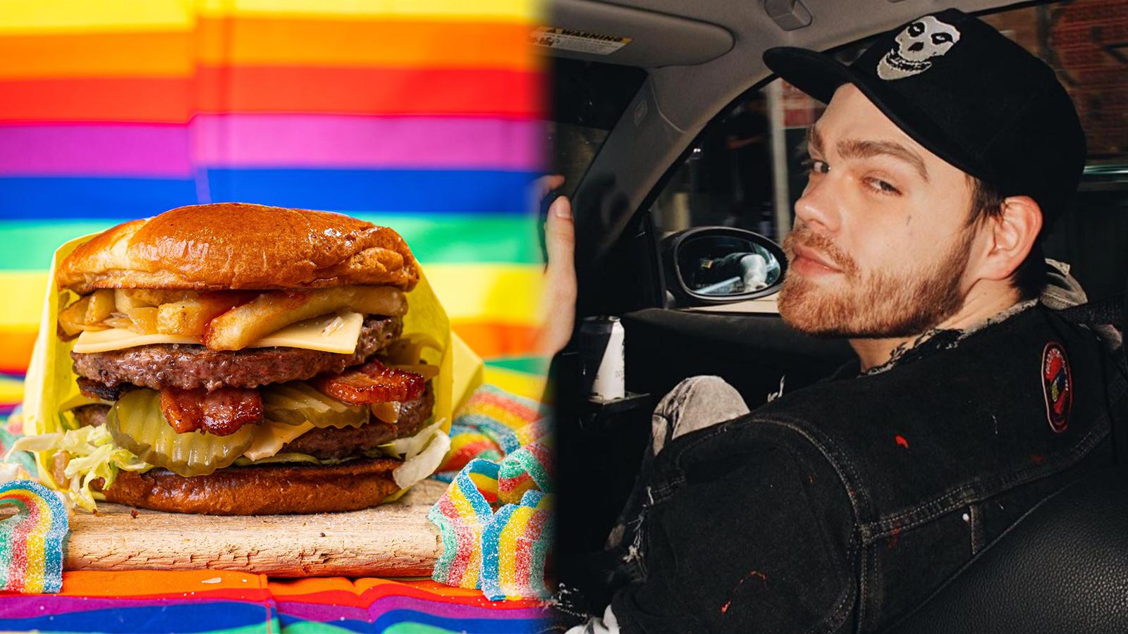 Elijah Daniel goes viral for Gay Burger chain