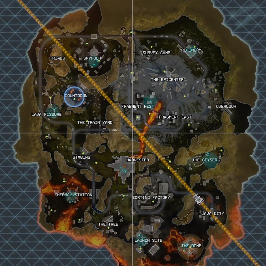 World's Edge map
