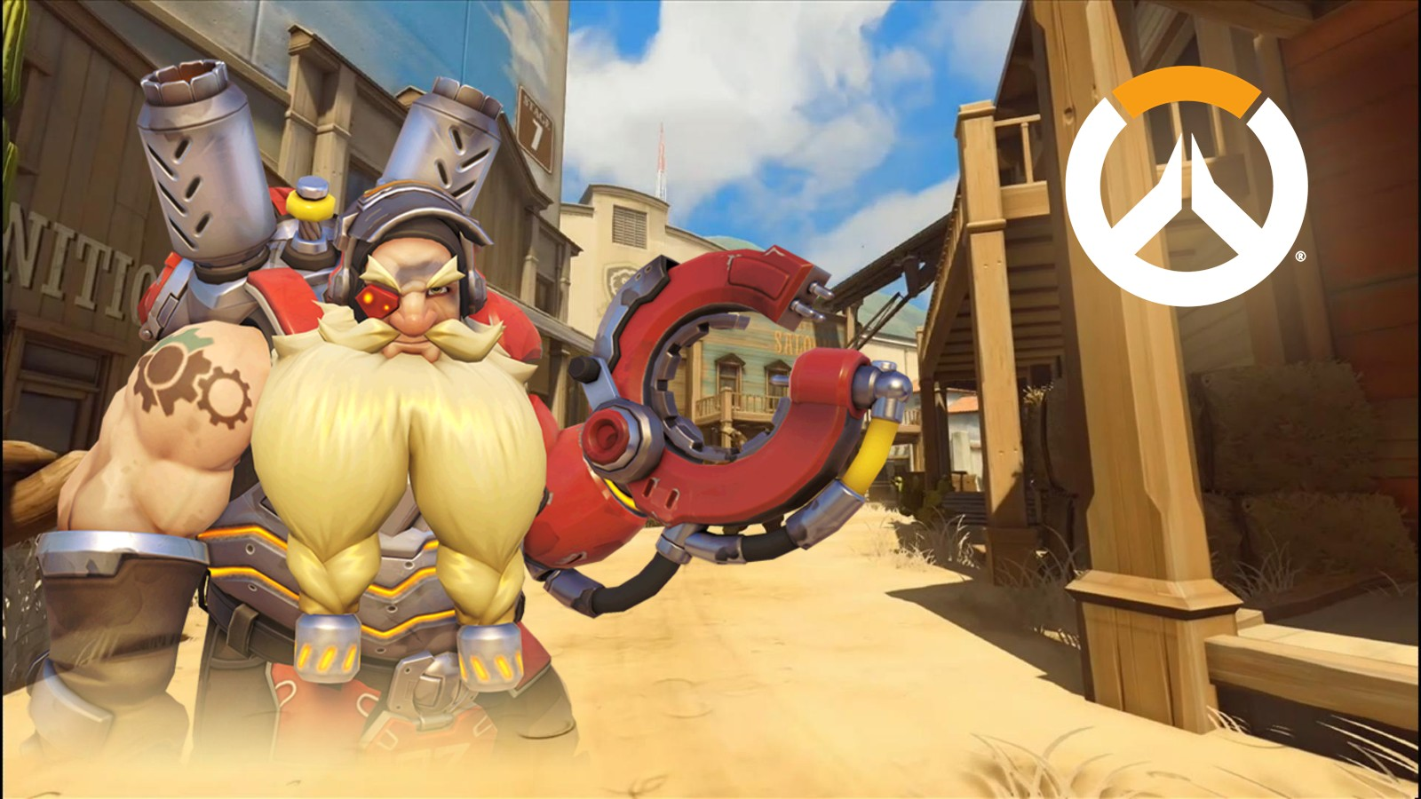 Torbjorn Glitch Overwatch Hollywood Western Set