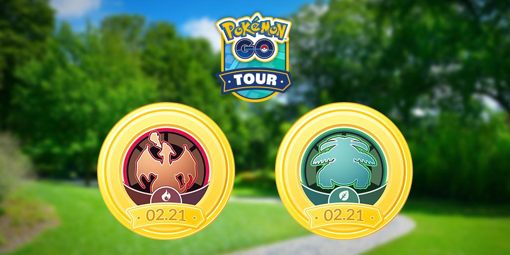 Kanto tour Pokemon Go