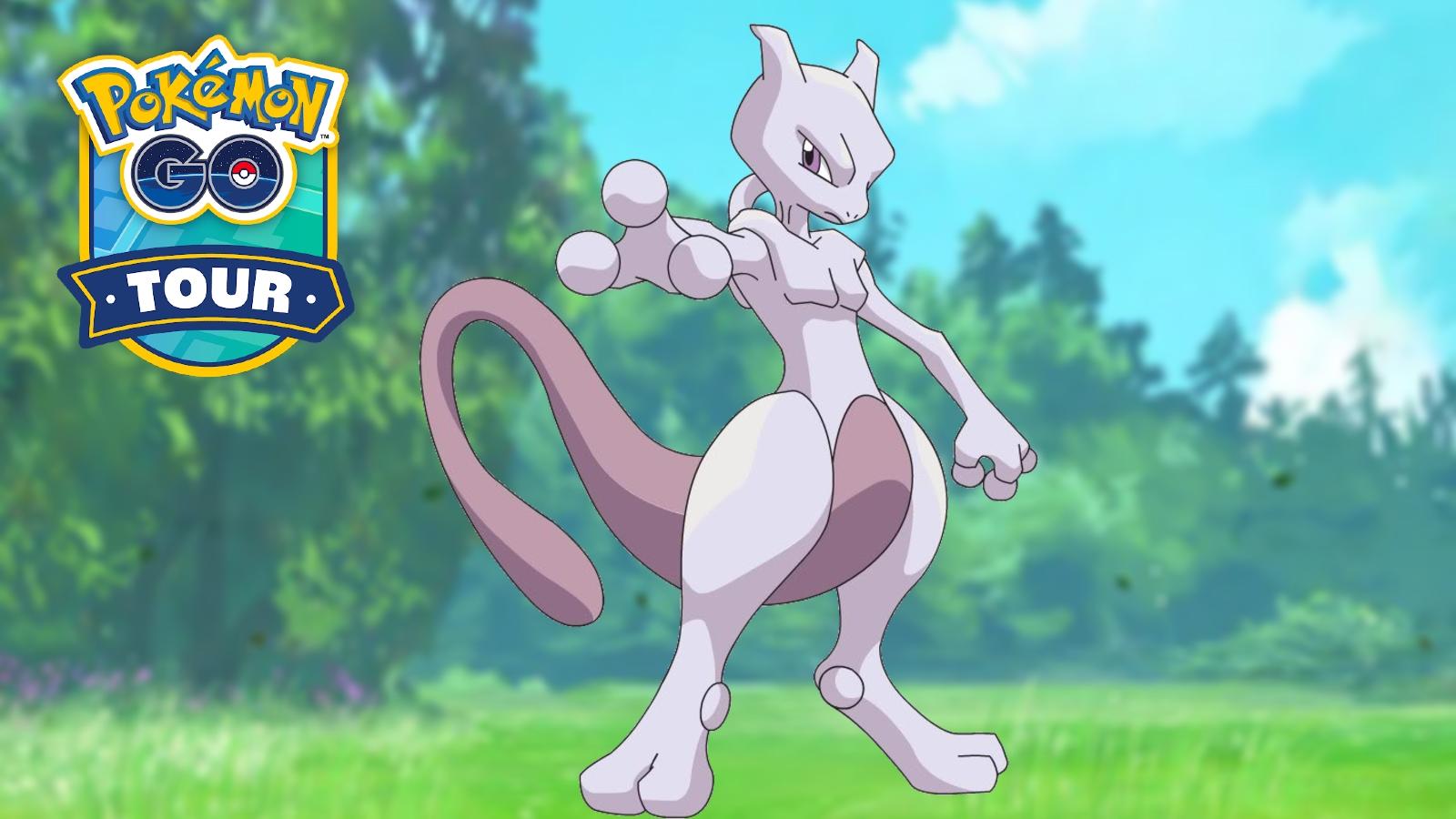 Pokemon Go Kanto Tour mewtwo raid counters