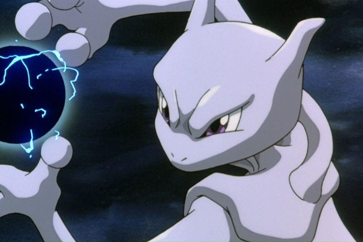 Mewtwo psychic move in pokemon movie
