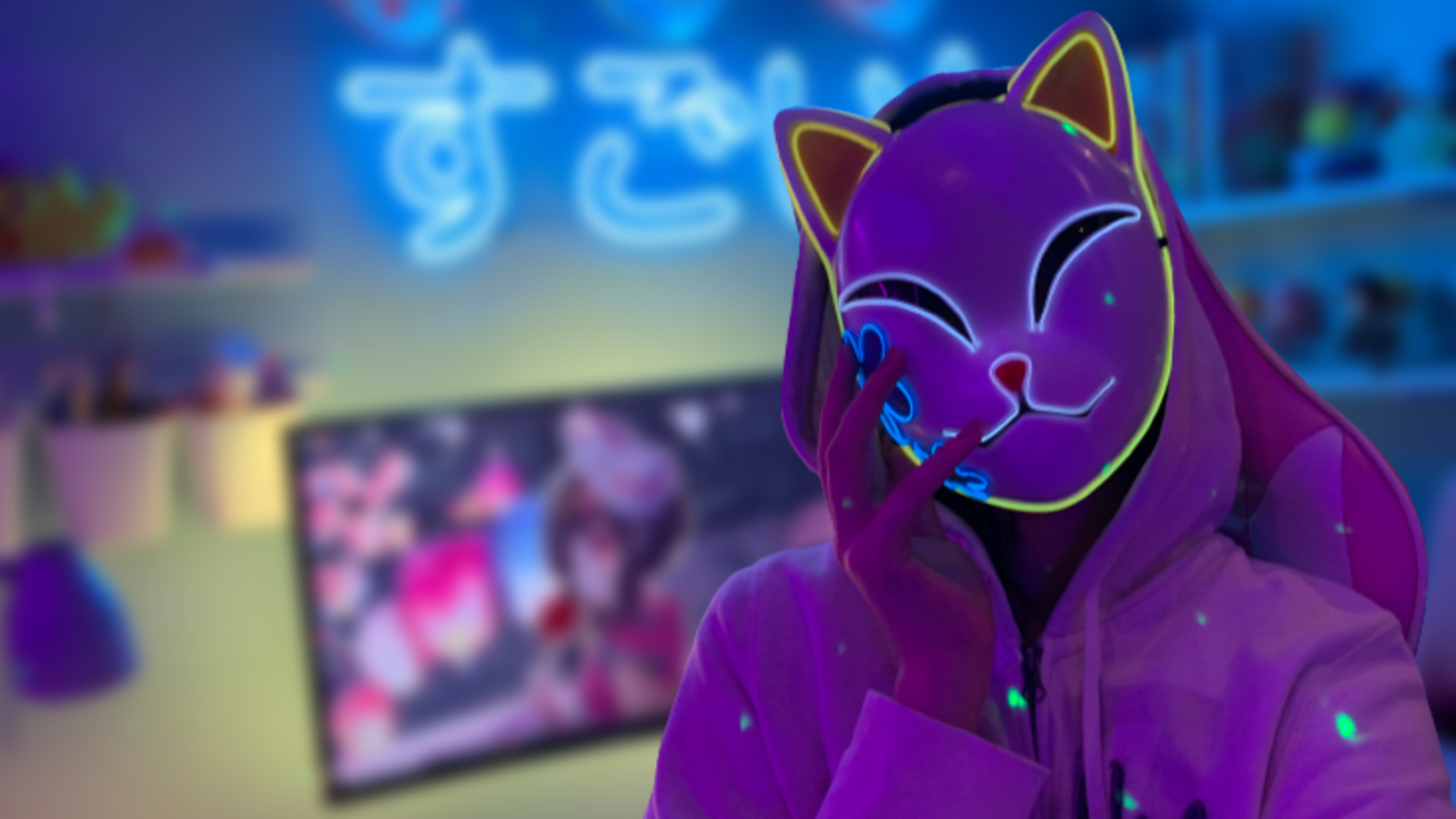 Insane Anime Gaming Setup Room Twitter Pastel Aesthetic