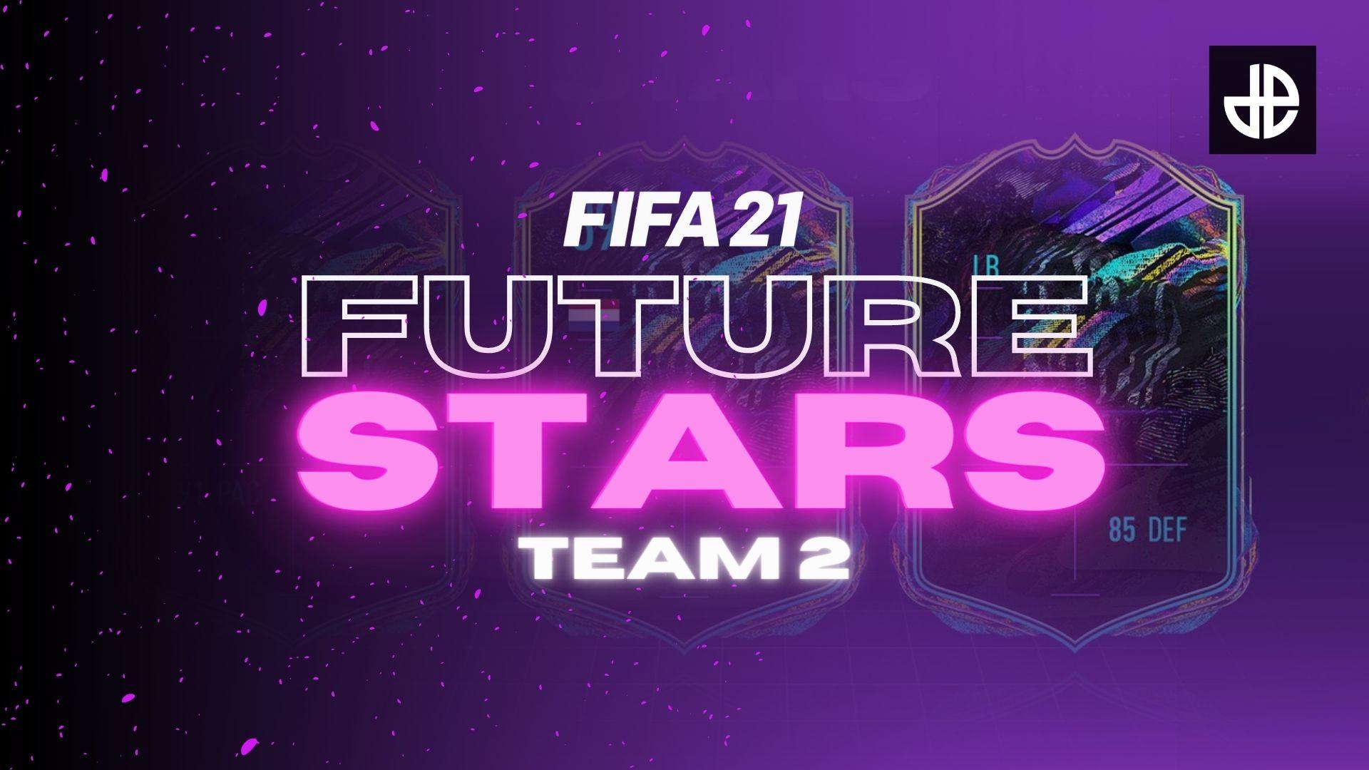 FIFA 21 Future Stars promo Team 2 logo