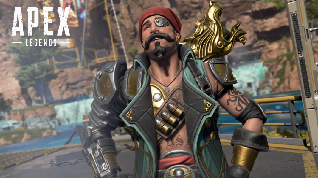 Fuse in a Pirate skin in Apex Legends