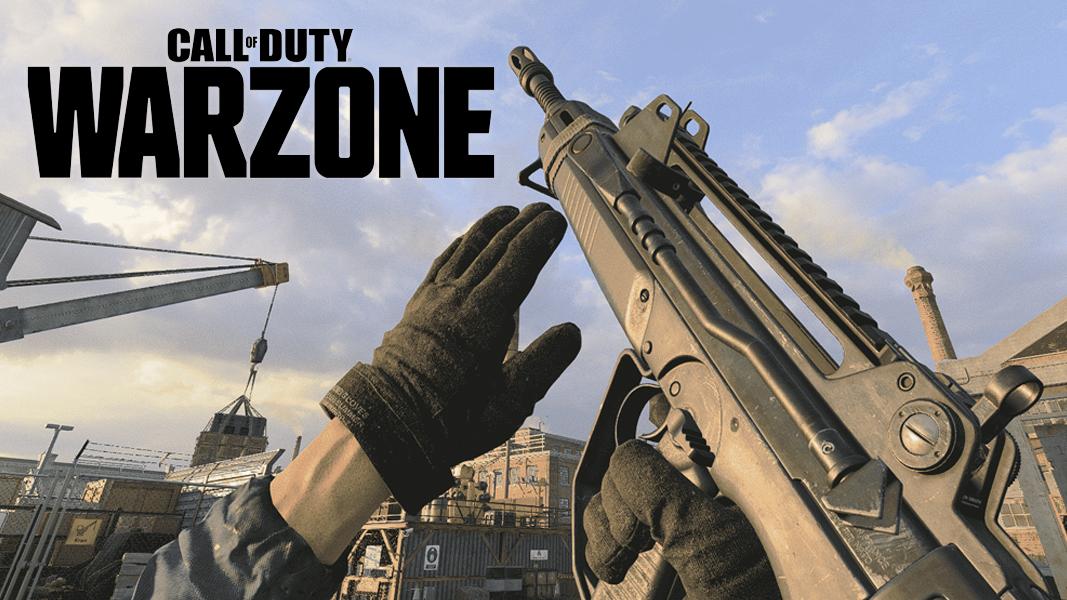 Warzone logo next to FFAR