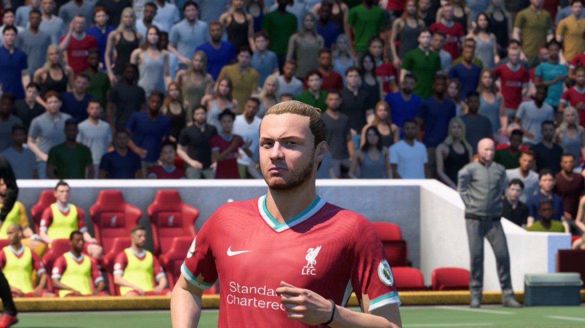 Harvey Elliott in FIFA 21 for Liverpool