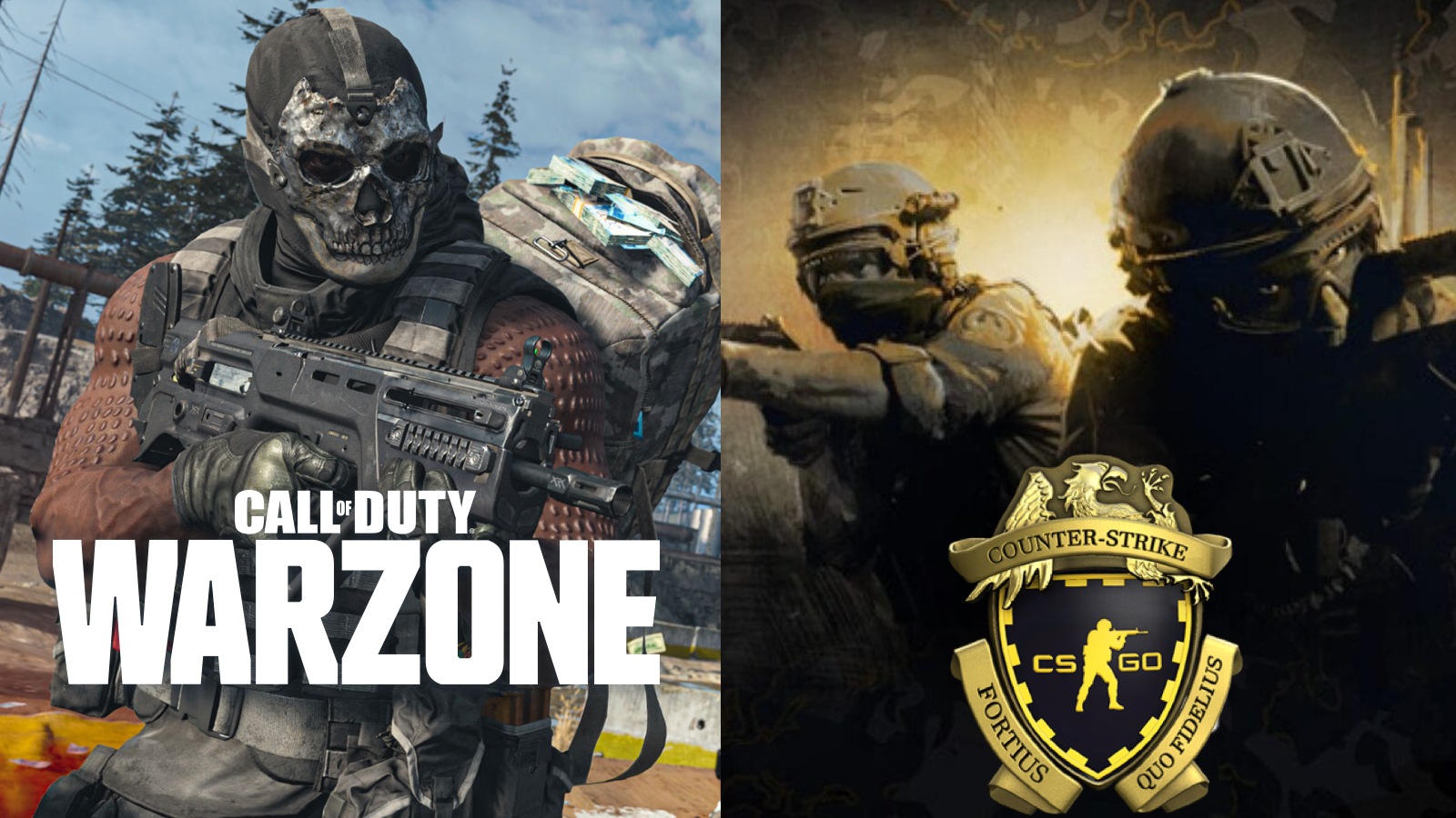 Warzone and CSGO prime