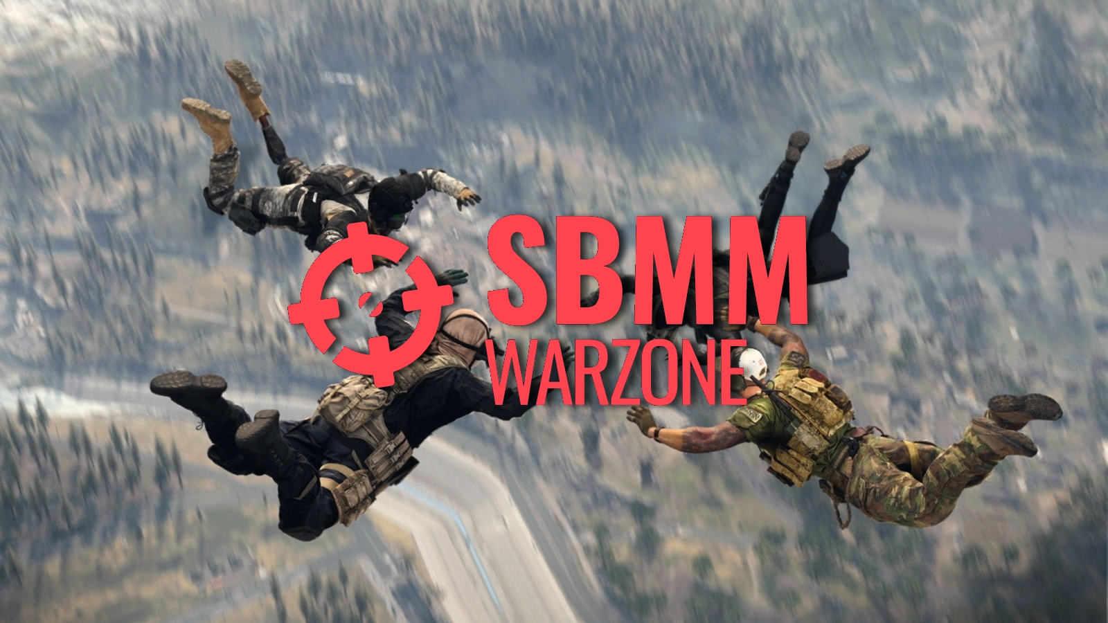 SBMM Warzone with players in-game