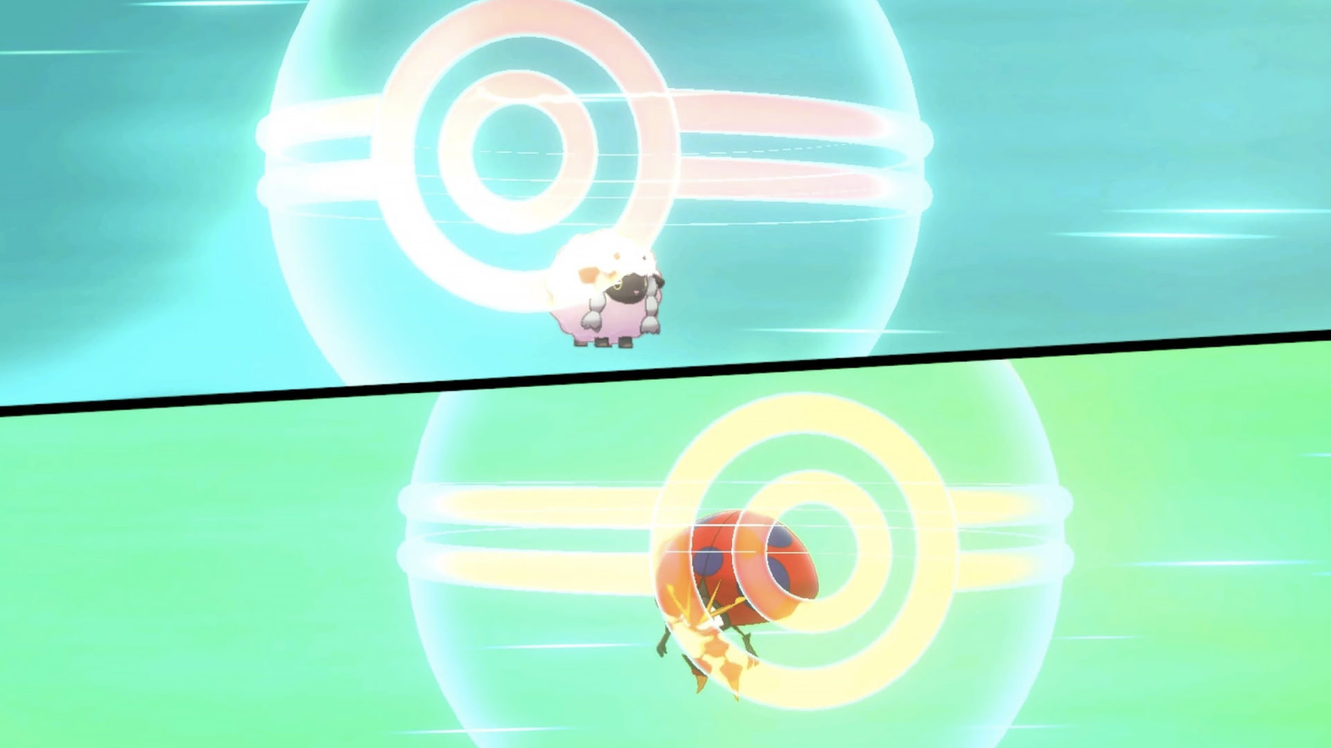 Screenshot of Pokemon Sword & Shield trade screen.
