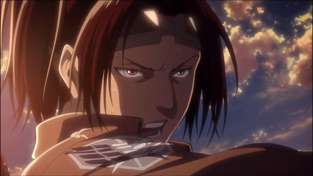 Hange Zoe Attack On Titan