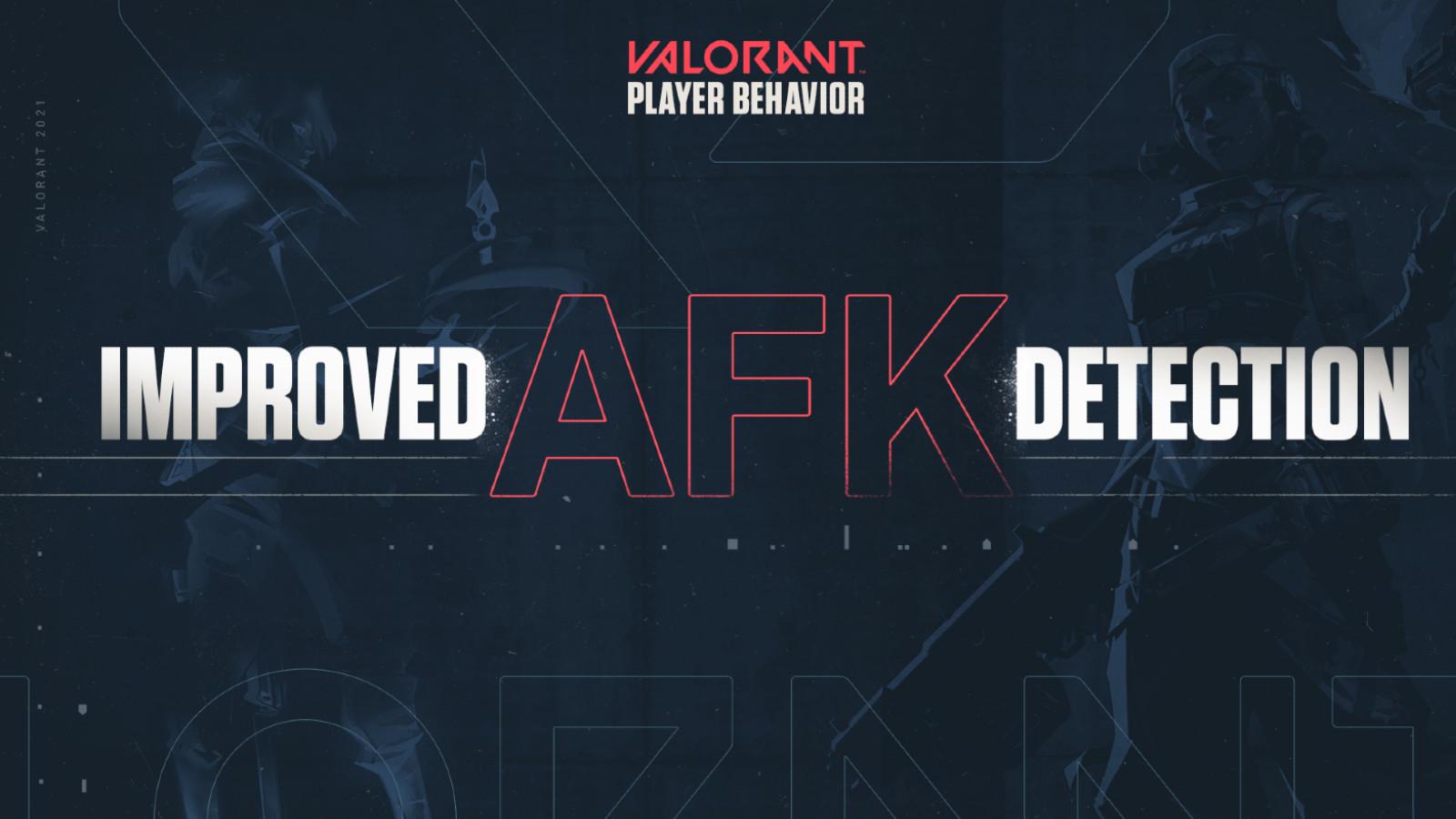 Valorant AFK detection