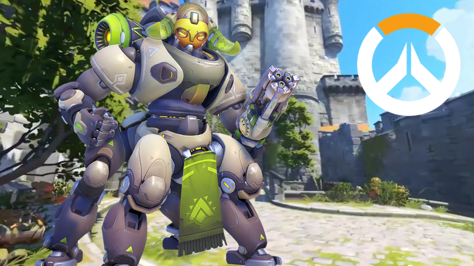 Orisa Eichenwalde Castle Overwatch Logo PTR Mechanic Mount WoW