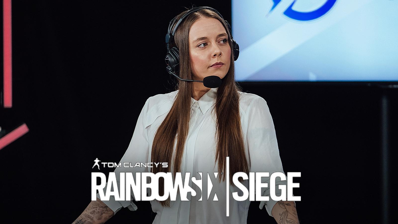 Jess Rainbow Six Siege caster and analyst
