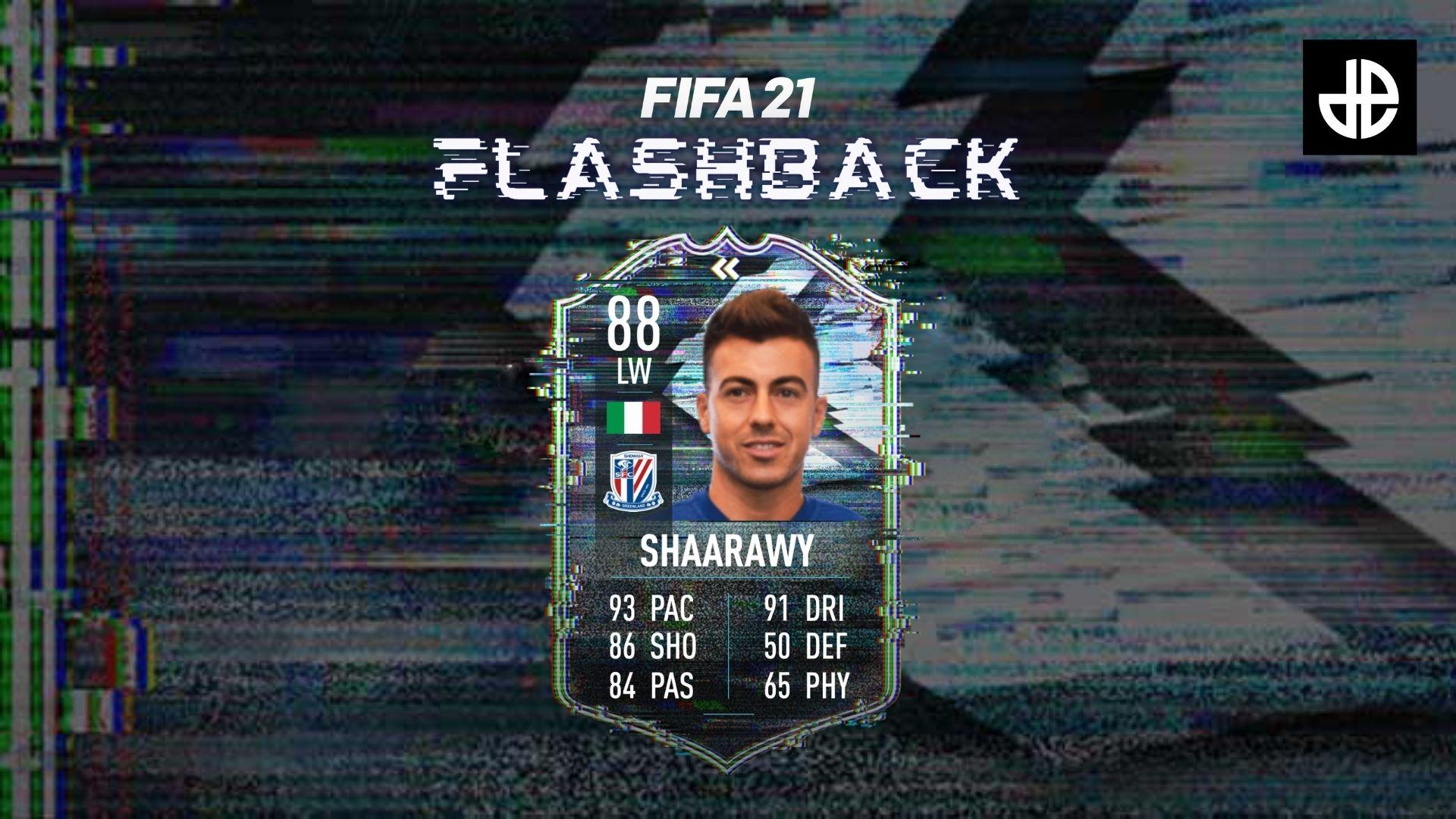 El Shaarawy FIFA 21 flashback sbc