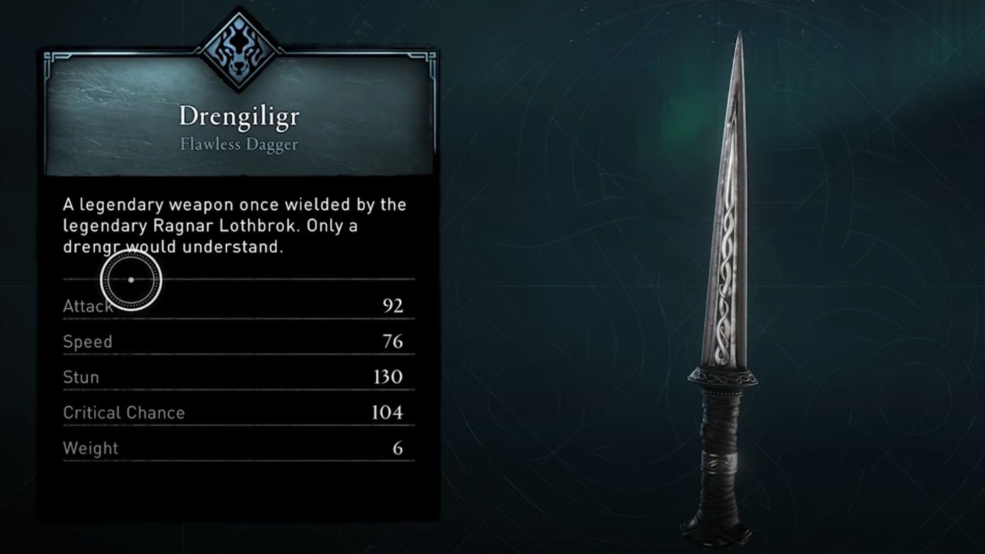 Drengiligr dagger