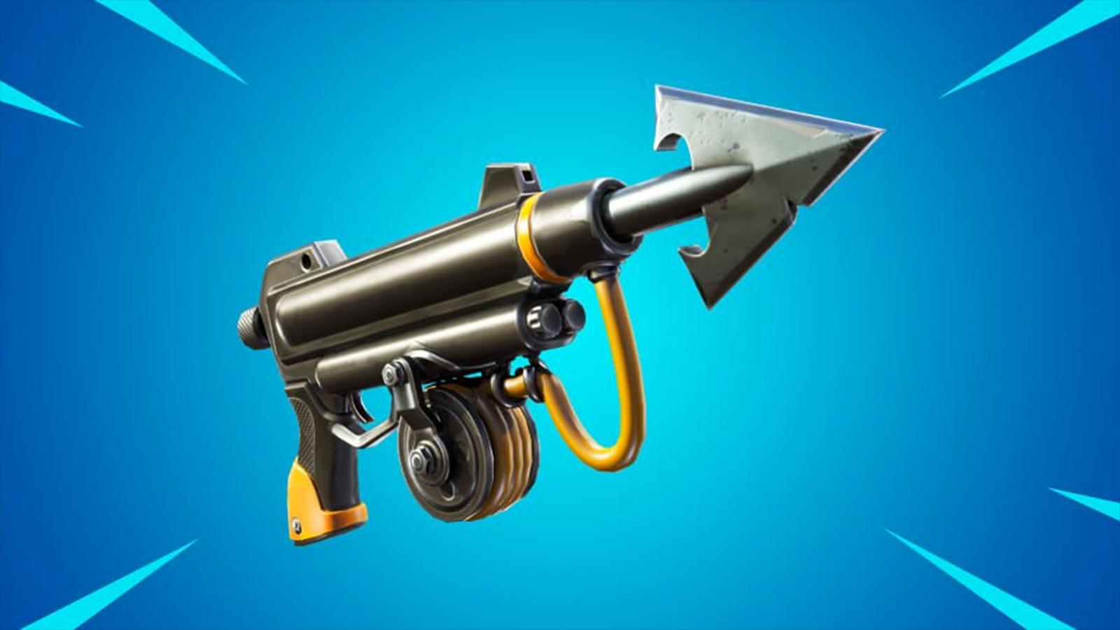 Fortnite harpoon gun