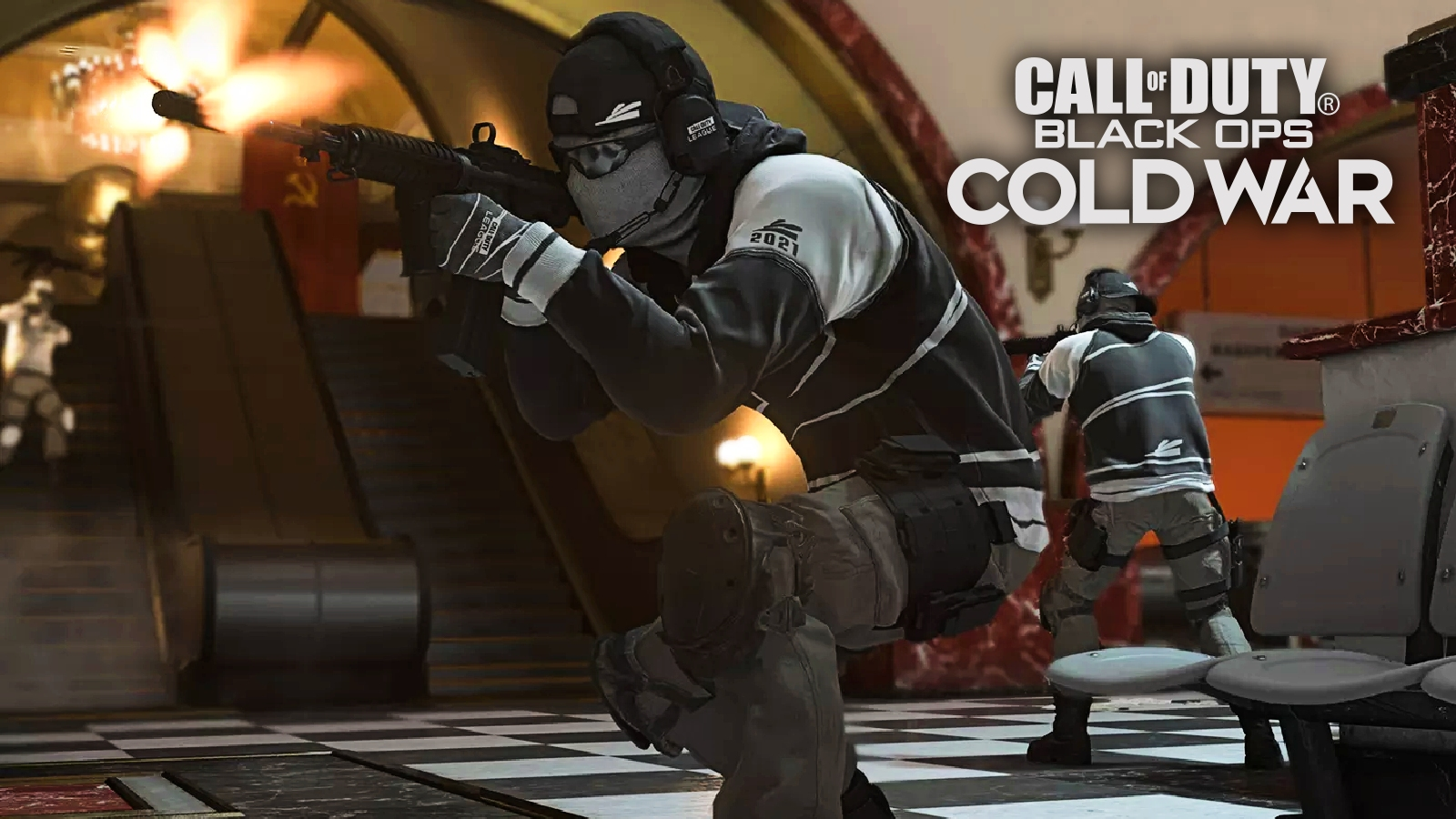 Black Ops Cold War CDL skins league play on moscow