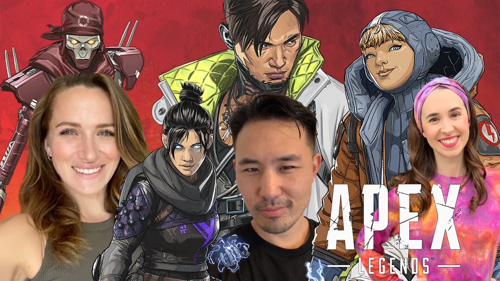 Apex Legends voice actors with characters
