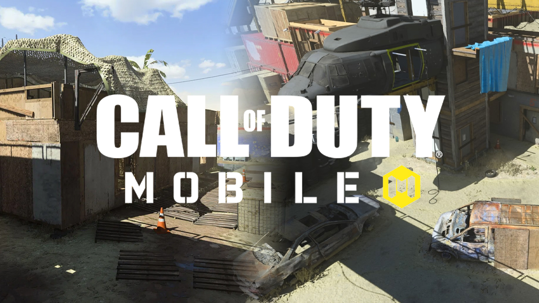 Shoot House with CoD Mobile logo
