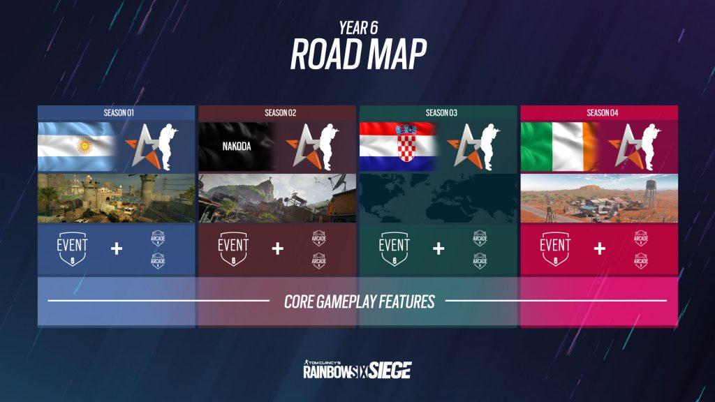Rainbow Six Year 6 roadmap