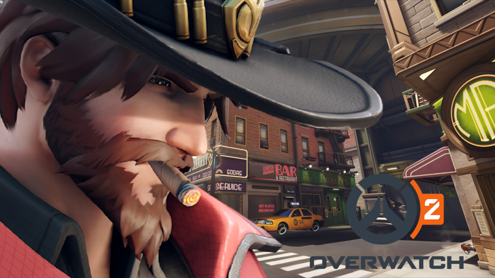 McCree in New York in Overwatch 2