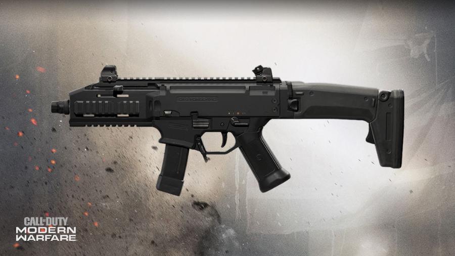 Modern Warfare CX-9 SMG