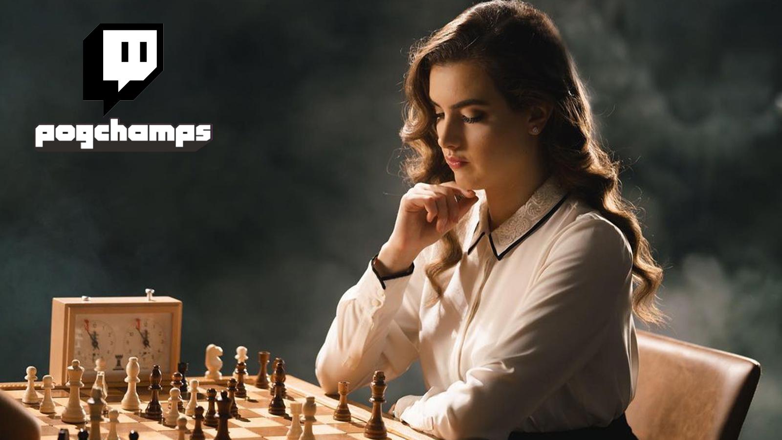 Alexandra Botez Pogchamps Twitch Chess Grandmaster
