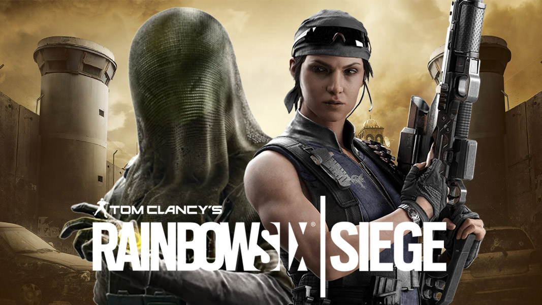 Nokk and Kali in Rainbow Six Siege at Border